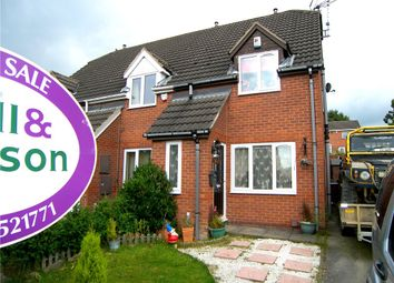 Thumbnail 2 bed semi-detached house for sale in The Pemberton, Broadmeadows, South Normanton, Alfreton