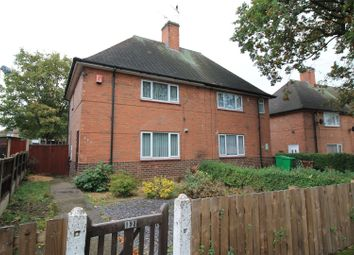 Thumbnail 2 bed semi-detached house for sale in Rosecroft Drive, Daybrook, Nottingham