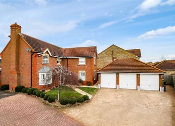 Thumbnail 4 bed detached house for sale in Carnweather Court, Tattenhoe, Milton Keynes