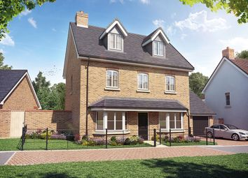Thumbnail 5 bedroom detached house for sale in Sheldons Reach, Reading Road, Hook
