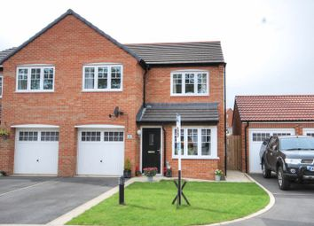 Thumbnail 3 bed semi-detached house for sale in Badger Court, Morpeth