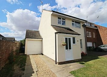 Thumbnail 3 bedroom end terrace house for sale in Middlefield Road, Sawtry, Huntingdon