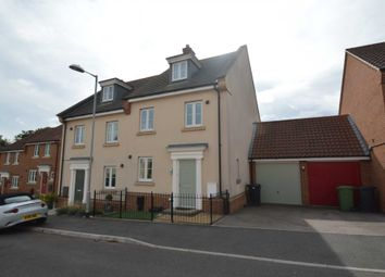 Thumbnail 4 bed semi-detached house for sale in Dolphin Road, Norwich