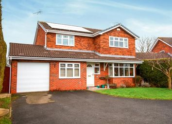 Thumbnail 4 bed detached house for sale in Raven Close, Sandbach, Cheshire
