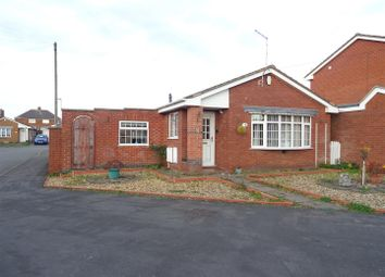 Thumbnail 2 bed detached bungalow for sale in Linden Close, Ibstock, Leicestershire