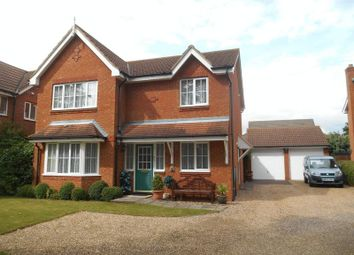 Thumbnail 4 bed detached house for sale in Dorsey Drive, Elstow, Bedford