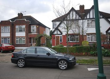 Thumbnail 3 bed semi-detached house to rent in Abbotts Drive, Wembley
