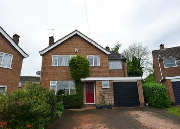 Thumbnail 4 bedroom detached house for sale in Moorway Croft, Littleover, Derby
