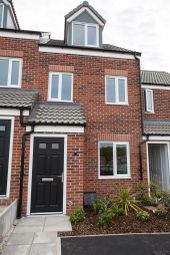 "Thumbnail 3 bed town house for sale in ""The Yarm "" at Northborough Way, Boulton Moor, Derby"