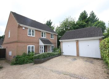 Thumbnail 4 bedroom detached house to rent in Hawthorn Close, Colden Common, Winchester