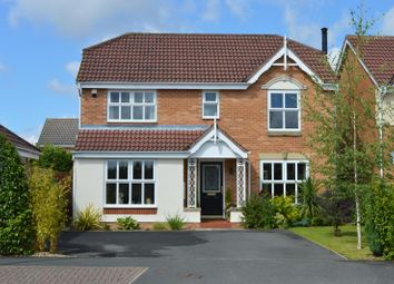 Thumbnail 4 bed detached house for sale in Woodbridge Avenue, Garforth, Leeds