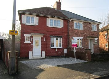 Thumbnail 3 bed semi-detached house for sale in Garden Road, Moorends, Doncaster