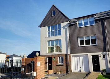 Thumbnail 4 bed end terrace house for sale in Fairlight Court, Pier Road, Littlehampton, West Sussex