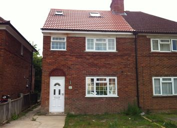Thumbnail 5 bed semi-detached house to rent in Valentia Road, Oxford