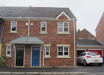 Thumbnail 3 bed semi-detached house to rent in Lambton Field, Sherburn Village