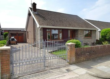 Thumbnail 3 bed detached bungalow for sale in Hall Drive, North Cornelly