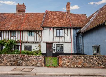 Thumbnail 3 bed terraced house for sale in The Street, Hacheston Woodbridge