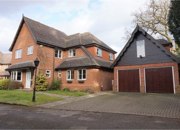 Thumbnail 4 bed detached house for sale in Old Parvis Road, West Byfleet