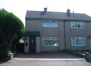Thumbnail 2 bed semi-detached house for sale in Earlstone Crescent, Cadbury Heath, Bristol