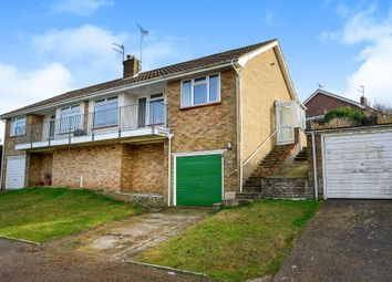 Thumbnail 2 bed semi-detached bungalow for sale in Rye Close, Saltdean, Brighton