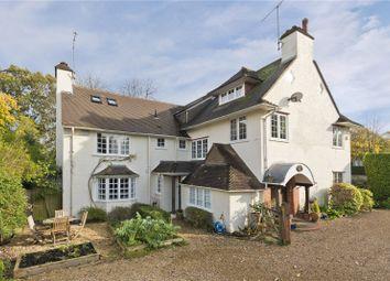 Thumbnail 4 bed link-detached house for sale in Warrenhurst Cottage, Old Farnham Lane, Farnham, Surrey
