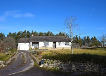Thumbnail 4 bed detached bungalow for sale in Higher Hill Head, Lethen, Nairn