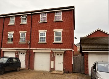 Thumbnail 3 bed end terrace house for sale in Bradley Drive, Grantham