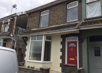 Thumbnail 3 bed semi-detached house to rent in Dan Y Coedcae Road, Pontypridd
