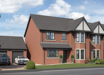 Thumbnail 4 bed detached house for sale in Yarm Road, Middleton St. George, Darlington