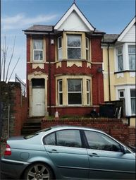 Thumbnail 4 bedroom end terrace house for sale in Clifton Road, Newport