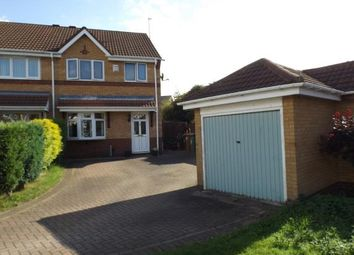 Thumbnail 3 bed semi-detached house for sale in Derwent Close, Willenhall, West Midlands