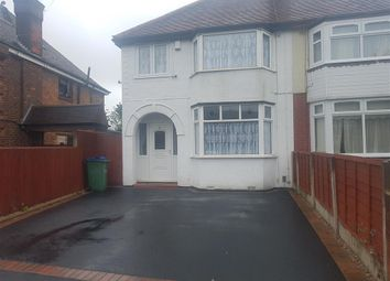 Thumbnail 3 bed detached house to rent in Coneygree Road, Tipton