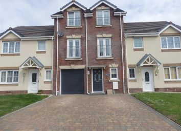 Thumbnail 4 bed terraced house for sale in Clos Y Gerddi, Bynea, Llanelli