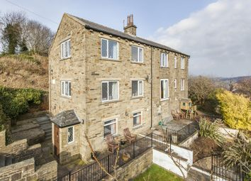 Thumbnail 4 bed detached house for sale in Grenfell, Oakworth, West Yorkshire
