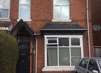 Thumbnail 1 bed semi-detached house to rent in City Road, Birmingham