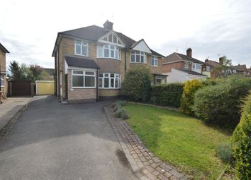 Thumbnail 3 bed semi-detached house for sale in Leicester Road, Groby, Leicester