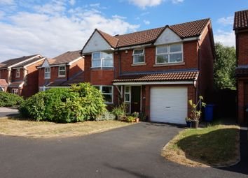 Thumbnail 4 bed detached house for sale in Campion Drive, Tamworth