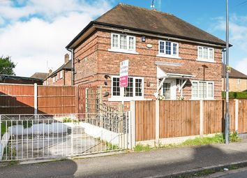 Thumbnail 3 bed semi-detached house for sale in Bangor Street, Chaddesden, Derby