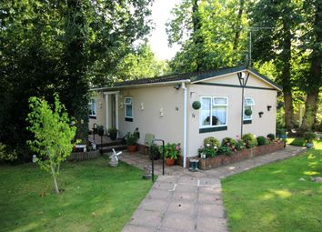 Thumbnail 2 bedroom bungalow for sale in Stonehill Woods Park, Old London Road, Sidcup