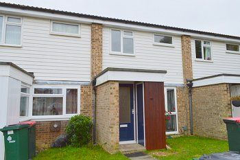 Thumbnail 3 bed terraced house to rent in Holmcroft, Southgate, Crawley, West Sussex