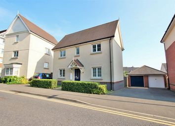 Thumbnail 3 bed detached house for sale in Apprentice Drive, New Braiswick Park, Colchester, Essex