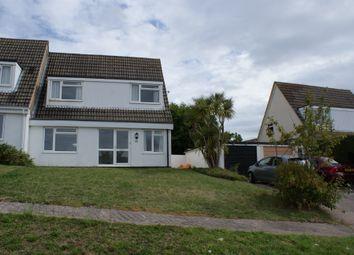 Thumbnail 3 bed semi-detached house to rent in Pentridge Avenue, Devon