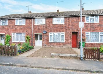 Thumbnail 3 bedroom terraced house for sale in Oak Close, Thetford, Norfolk