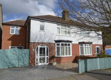 Thumbnail 4 bed semi-detached house for sale in Graystone Road, Tankerton, Whitstable