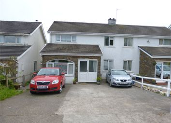 Thumbnail 3 bedroom semi-detached house for sale in Carreglwyd, Brynhyfryd, Llandissilio, Clynderwen