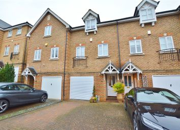 Thumbnail 3 bed terraced house for sale in Montague Hall Place, Bushey, Hertfordshire
