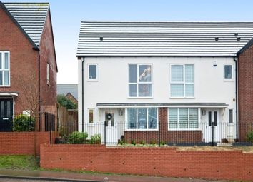 Thumbnail 2 bed terraced house for sale in Vickers Close, Milehouse, Newcastle