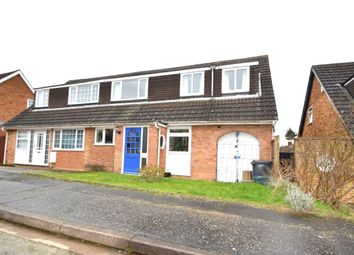 Thumbnail 4 bed semi-detached house for sale in Grovebury Dell, Kingsthorpe, Northampton