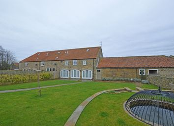 Thumbnail 4 bed barn conversion for sale in High Street, Burniston, Scarborough
