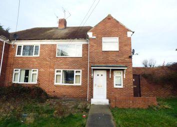 Thumbnail 1 bed flat to rent in Hylton Bank, South Hylton, Sunderland